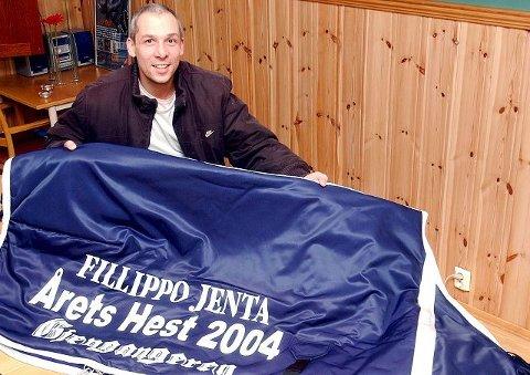 MESTVINNENDE: Gjengangerens seiersdekken 2004 gikk til Philip Rinaldis Fillippo Jenta. FOTO: VIDAR KALNES