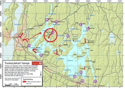 vansjø kart Moss Avis     Bilsporene på isen stopper ved en råk vansjø kart