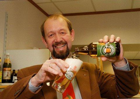 Adm. direktør Terje Aass i Aass bryggeri vektlegger kultur i profileringen av bryggeriet utenfor  bygrensen. På Grünerløkka merkes oppsvingen av ølet fra Drammen.