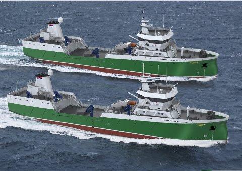 Bømlo Brønnbåtservice på Stord har bestilt disse to nybyggene.