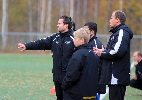 Drammen-trener Øystein Garborg var alt i alt fornøyd med poengdeling mot Mjøndalen 2.