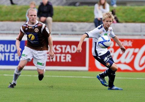 Martin Ødegaard spilte treningskamp for SIFs A-lag mot MIF som 13-åring i fjor.
