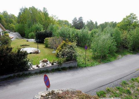 Boligene kommer i området sør for veien. Området er delvis bebygd.