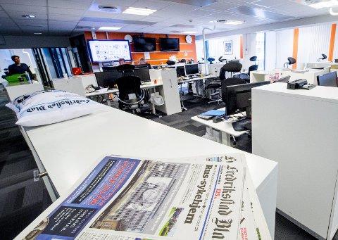 Omstilling må til: Truls Velgaard skriver at norske aviser har hatt stor suksess med digital publisering, og at Fredriksstad Blad har vært en banebryter.Foto: Erik Hagen
