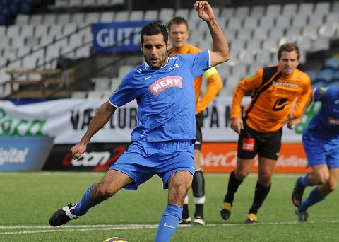 Drammen FK og Faramarz Nemati, som scoret kampens første mål, tapte knepent 4–3 borte mot Vard Haugesund.