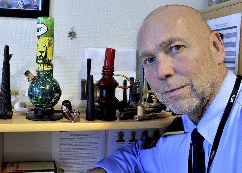 avventer Politiførstebetjent Ragnar Foss avventer konklusjonen fra Spesialenheten for politisaker og vil ikke kommentere advokatens konklusjon. arkivfoto: trond thorvaldsen