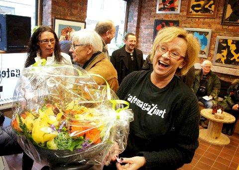 Mona Eieland fikk en god start på mandagen da hun vant 100.000 kroner gjennom Radio Norges konkurranse.