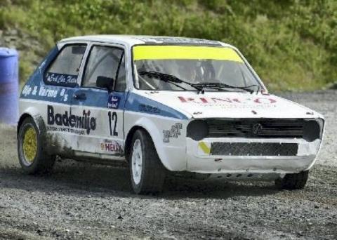 De fleste i bilsportmiljøet husker Erik Flaten fra 90- og 2000-tallet, da han kjørte med denne bilen – en Volkswagen Golf 1.