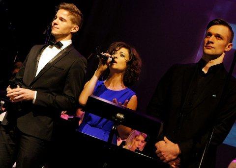 imponerte: Solistene Bjørnar Reime Erlandsen (h), Benedicte Barra og Jørgen Olsson imponerte i konsertversjonen av musikalen «Chess», .