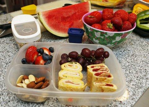 Nesten alt som kan spises kaldt, kan være med i matboksen.