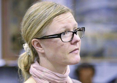 Venstreleder Ulla Nordgarden.