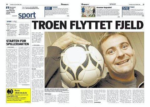 Faksimile Gjengangeren 30. oktober 2001