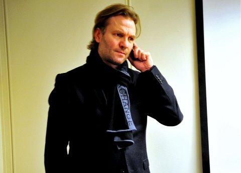DÅRLIG DAG: Telefonen til Kjetil Kristoffersen sto ikke stille onsdag, etter at det ble kjent at Notabene-kjeden er konkurs. Foto: Siv Elisabeth Limkjær