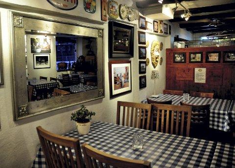 Sjarm som gir kjellerrestauranten et autentisk preg, mener  Pølsa & Vaffel'n.