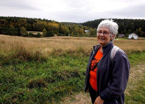 FØRSTE GANG: Mona Lapstun fra Sydskogen deltok for første gang. Hun er en aktiv turgåer og syntes løypene var svært godt preparert.