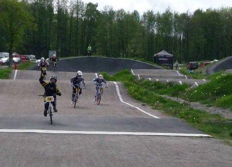 Peder Skjelltorp fra Moss BMX vant i klassen 11-12 år.