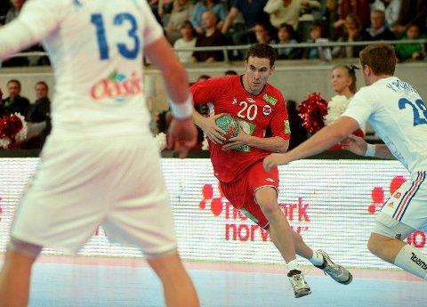 André Lindboe er med i Hedins EM-tropp som skal møte Island i morgen.