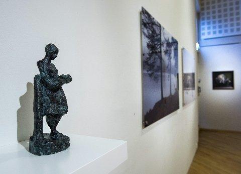 Åpner i kveld: Buskerud Bildende Kunstnere inviterer til Novemberutstillingen på Drammens Museum. foto: rune folkedal