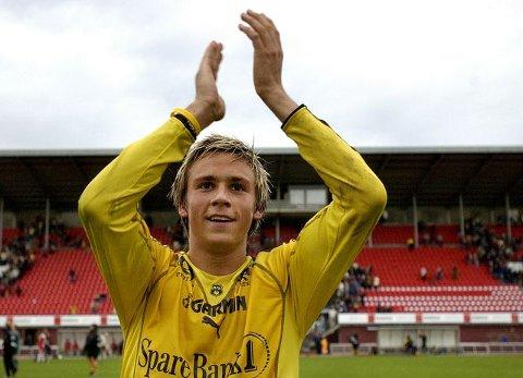 Steffen Nystrøm fra tiden i Moss FK.