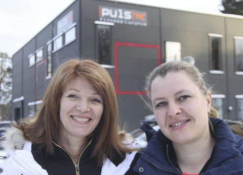 Gleder seg: Ernæringsfysiolog og massasjeterapeut Lise Lemberg gleder seg å starte kurs på Puls Fitness. Det gjør Camilla Lynne også.