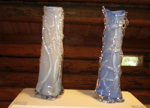 SPESIELLE Glass: Karen Klims glass i etasjen over Gorbashow er spesielle, og de koster fra 3.000 til 20.000 kroner.