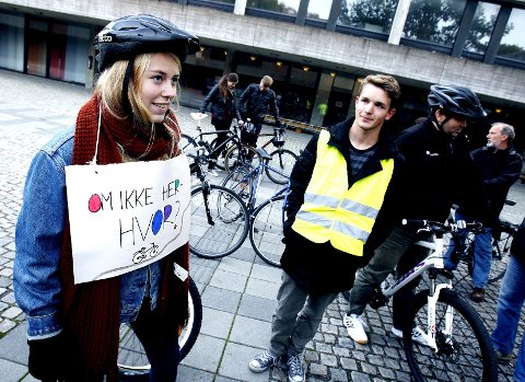 Ikke bare paroler: Vi vil se resultater, sier Tonje Eriksson og Sindre Haakonsen i Natur og Ungdom.