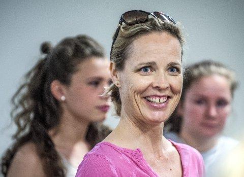 GLAD: Marianne Tomasgård i SAFFA har grunn til å smile. Akershus er tildelt «Bygda dansar», noe som gir over 3 millioner kroner til dans.