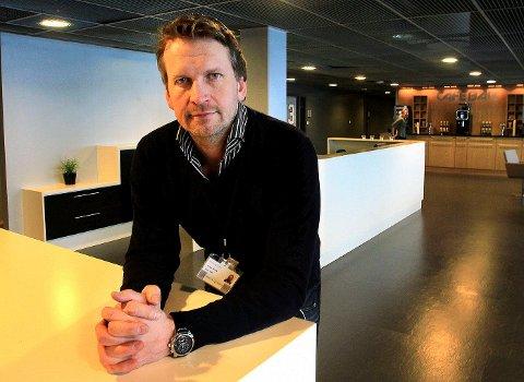 Øystein Flenning tar i mot «Sjøen for alle» neste år.