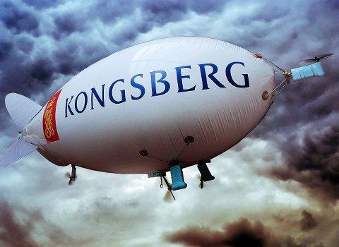 LUFTSKIP: Dette er en Zeppaloon som studentene skal bygge på Kongsberg i sommer.