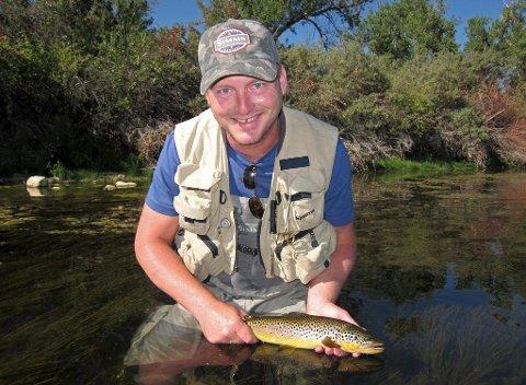 Morten Harangen har reist verden rundt med større og mindre grupper for å drive med sin store lidenskap: fluefiske.