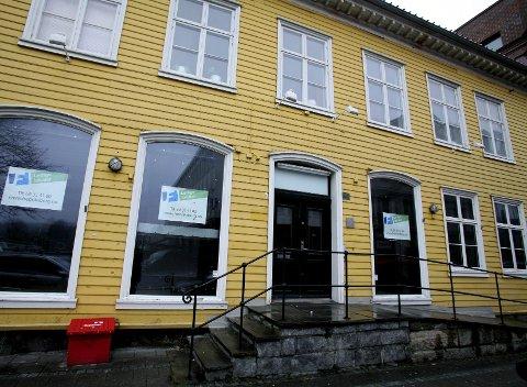 TOMT: Showtime Fredrikstads siste videobutikk i sentrum lå her i Storgata. Butikken la ned i mai i fjor, og nå står lokalene tomme.