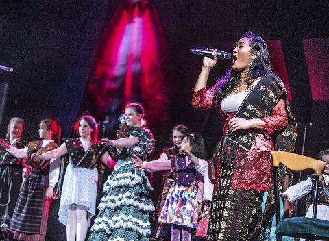 INDONESIA: Fengende sang og musikk fra Indonesia, med solister og fargerikt kor. ALLE FOTO: CHRISTIAN CLAUSEN