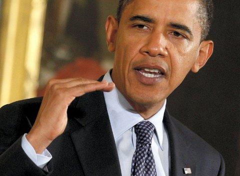 GODE INTENSJONER: Obama får prisen forgode intensjoner – i håp om at han kan lede USA og verden ut av klimakrise, finanskrise og fattigdomskrise, skriver artikkelforfatteren. Foto: Reuters