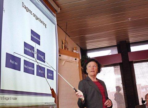 Stort sykefravær – Den ene avdelingen vår, Syd/Vest, har vi i dag en stor utfor dring på i forhold til ledige stillinger og sykefravær, sa kommunalsjef Inger–Johanne Fjeldbraaten i går.