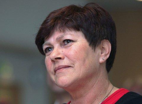 Opptatt av brannsikring: Bente Thorsen (Frp) forteller at hennes parti i sitt alternative statsbudsjett vil øke potten til brannsikring av kirkebygg med 120 millioner kroner.   Arkivfoto: Harald Nordbakken