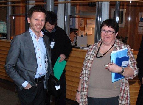 Tage Pettersen (fra venstre), Sindre Westerlund Mork og Inger-Christin Torp vil berge statsstøtten til Punkt Ø.