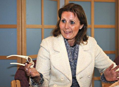 NÆRINGSLIVETS HOVEDORGANISASJON: Ellen O. Raaholt, styreleder i Buskerud. FOTO: STÅLE WESETH