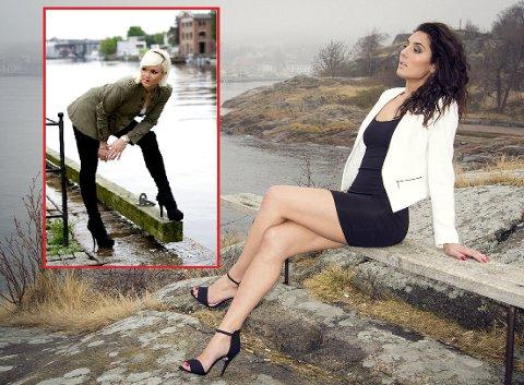Arita Fejzulai (23) og Lejla Memic (21) fra Fredrikstad har kapret to av 14 plasser i den norske Miss Univserse-finalen.