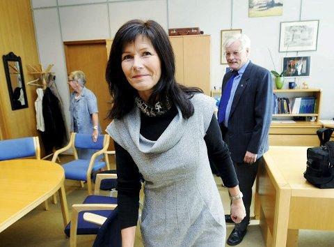 Ann Sire Fjerdingstad (H), ordfører i Øvre Eiker, sonderer nå stemningen blant grunneiere i kommunen sin. Hun vil kunne svare tydelig om Øvre Eiker velges som tomtealternativ for et nytt fremtidig sykehus.