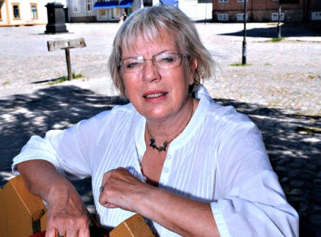 Inger Christine Apenes er sterkt engasjert i Gamlebyen.