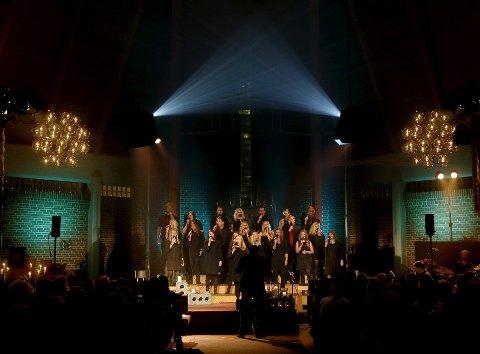 Stemningsskaperne: Voice of Joy avholdt tre konserter i Åkrehamn torsdag og fredag, og lørdag opptrådte koret i Valestrand kulturkyrkje i Sveio.Foto: Alfred Aase