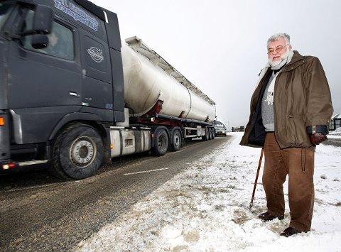 De økte trafikktallene til Bastøfergene var en dårlig nyttårshilsen til Moss, sier MISAleder Erik Roth Nilsen (Ap).
