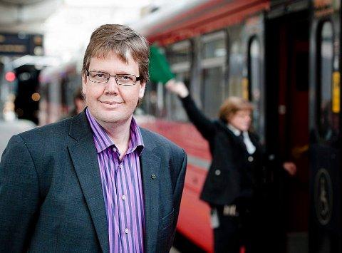 – De fleste reisende blir tatt hensyn til langs Spikkestadbanen, mener NSBs kommunikasjonssjef Åge-Christoffer Lundeby.