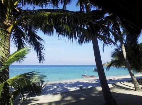 Susanne var flere ganger i Thailand i fjor. Bildet er fra Bottle Beach, Koh Phangan.