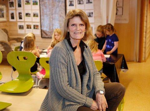 FORTVILET: – Nå er vi grundig lei den lusa, sier styrer Ellen Walstad ved Eiksmarka barnehage.