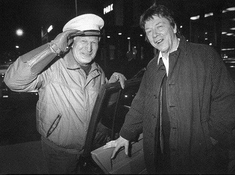 Tidligere kinosjef Robert Halvorsen var festivalsjåfør og fraktet den svenske filmskuespilleren Alan Edwall, pappaen til Emil i Lønneberg, til hotellet i byen.