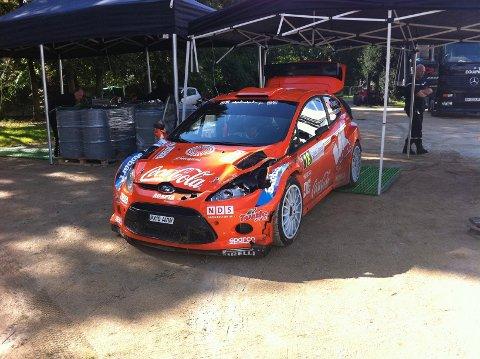 Mads Østberg og Jonas Andersson innfridde ikke til forventningene under Rally France.