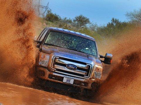 Fords F-serie er bestselgeren i USA.