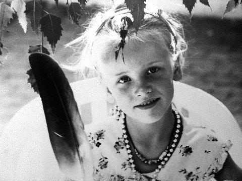 UNG FUGLEVENN: – Her er jeg fem år gammel, på et falkereservat.