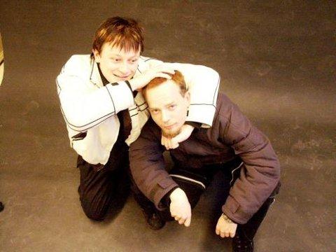 Viggo Krantz og Tor Øyvind Dahle fra SlipZtream skal spille og arrangere konsert mot dop.